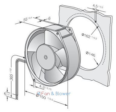 ebm-papst 7212N Blowers and Fans